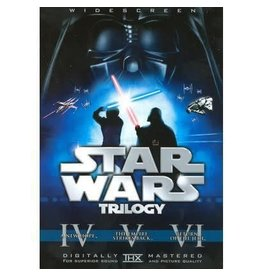 Sci Fi / Fantasy Star Wars Original Trilogy with Theatrical Cuts Box Set