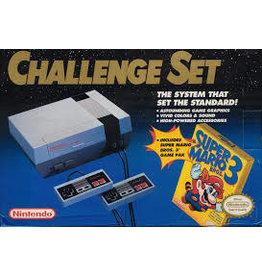 NES Nintendo NES Challenge Set Console (CiB)