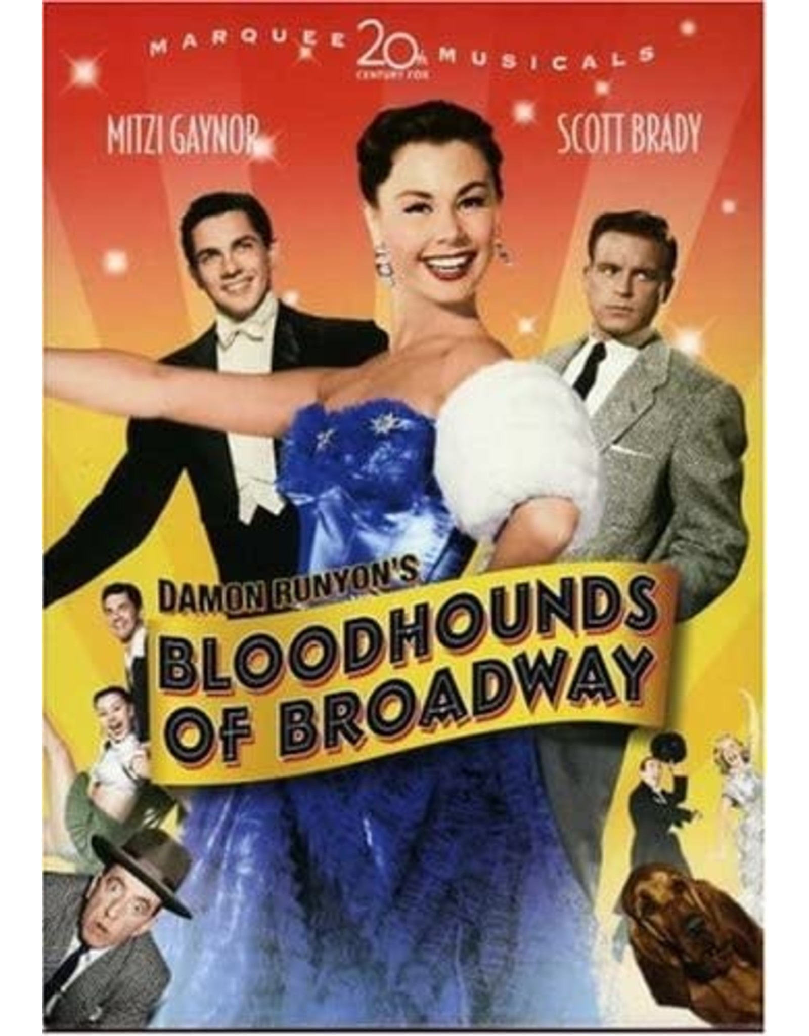 Film Classics Bloodhounds of Broadway 1952