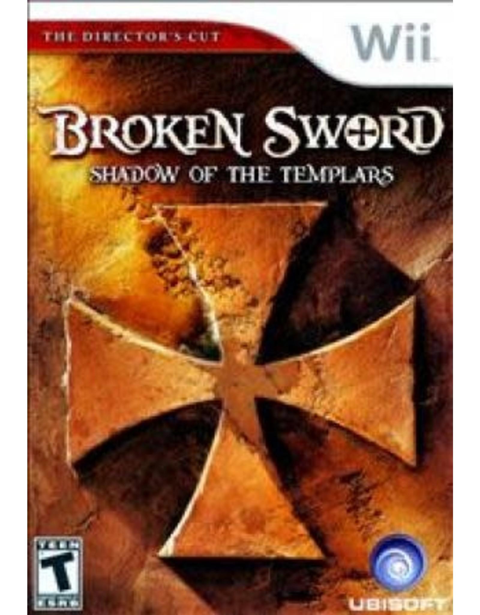 Wii Broken Sword The Shadow of the Templars (CiB)