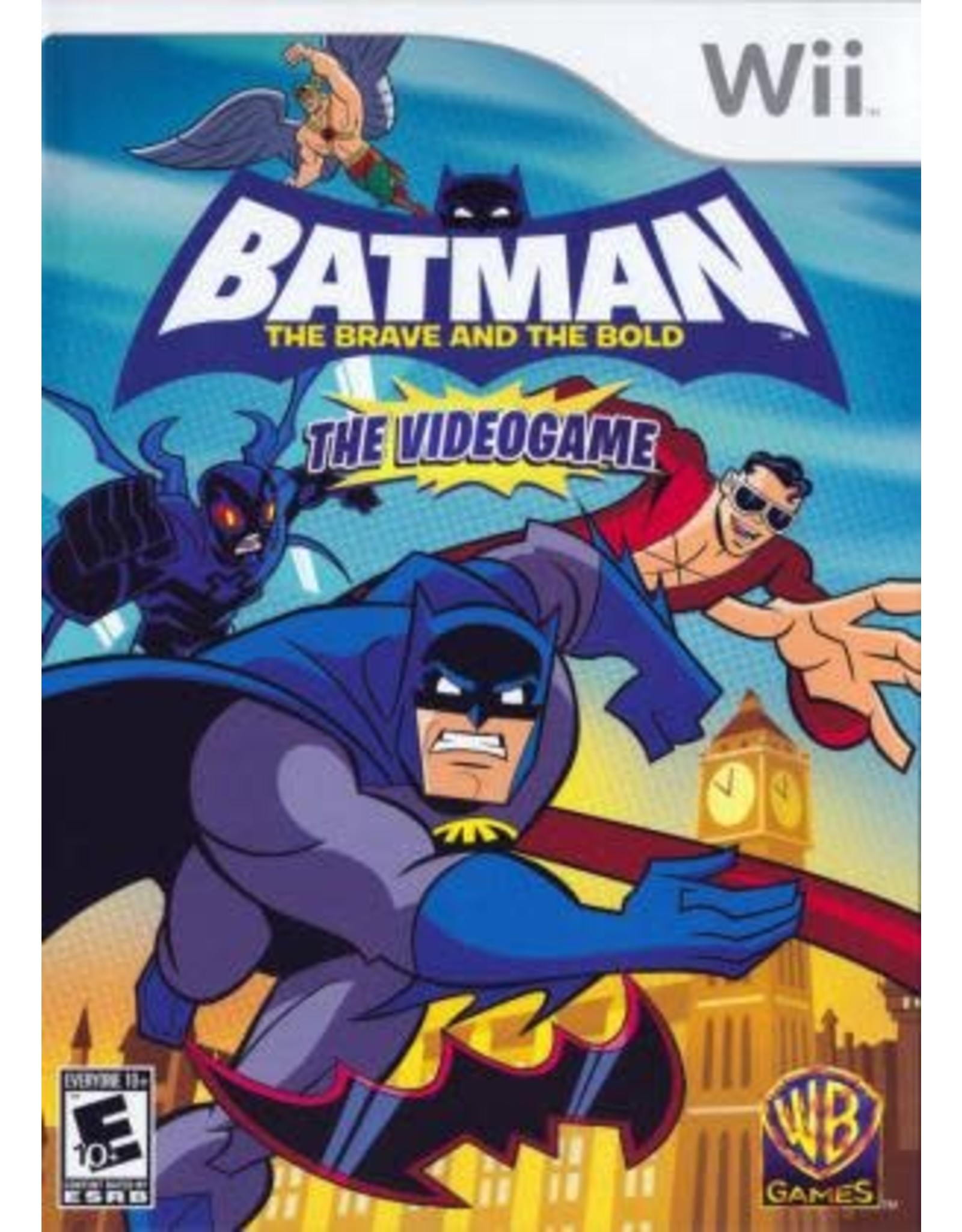 Wii Batman: The Brave and the Bold (CIB)