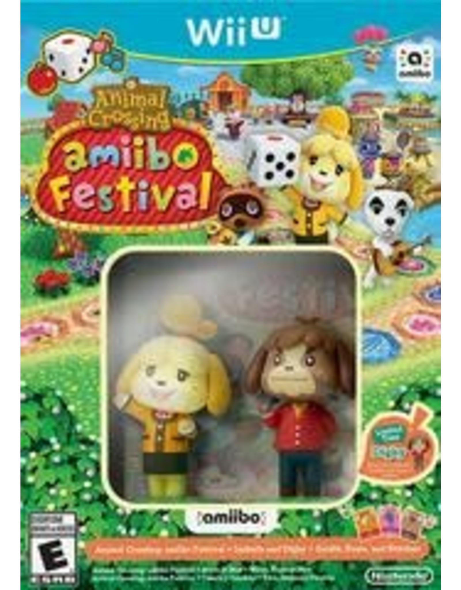Wii U Animal Crossing Amiibo Festival (BRAND NEW, Amiibo Bundle)