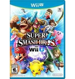 Wii U Super Smash Bros For Wii U (Brand New Sealed)