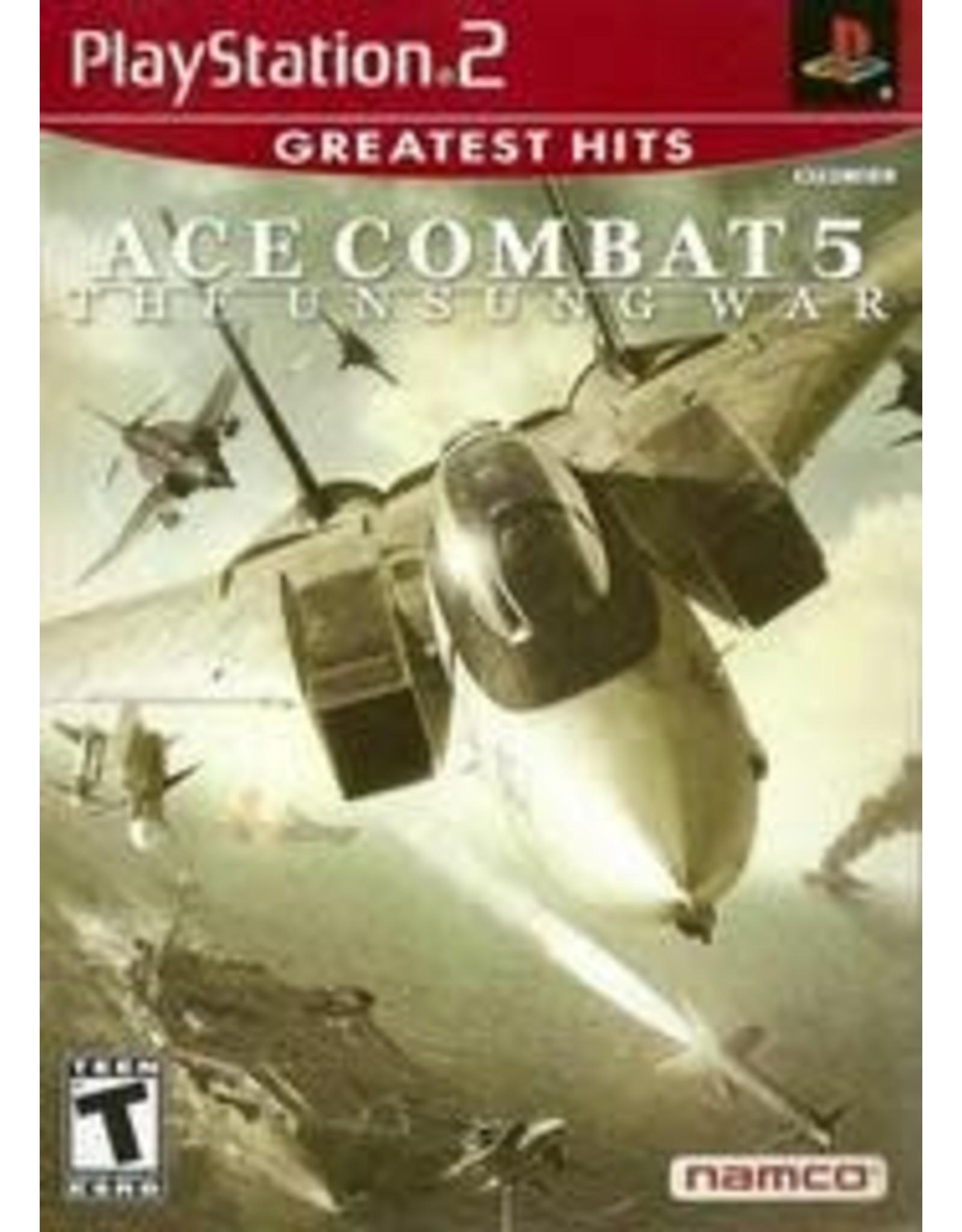 Playstation 2 Ace Combat 5 Unsung War (Greatest Hits, CiB)