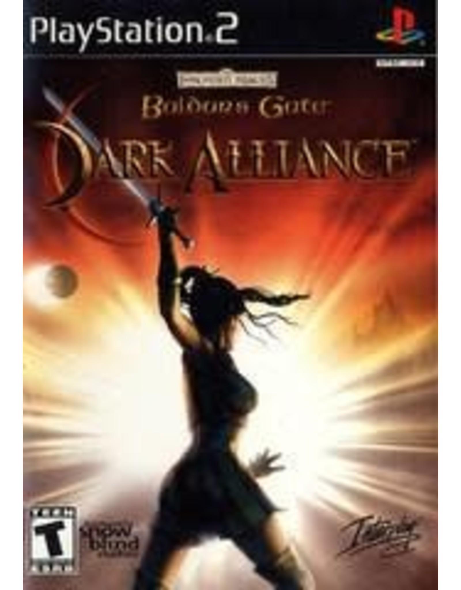 Playstation 2 Baldur's Gate Dark Alliance (CiB)