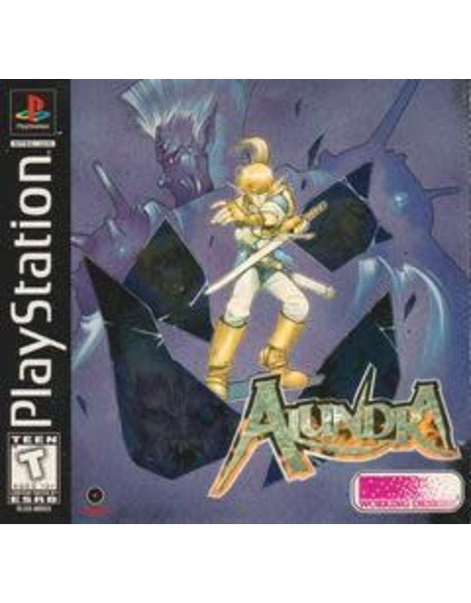 Playstation Alundra (Disc, Inserts, No Manual, Single Jewel Case))