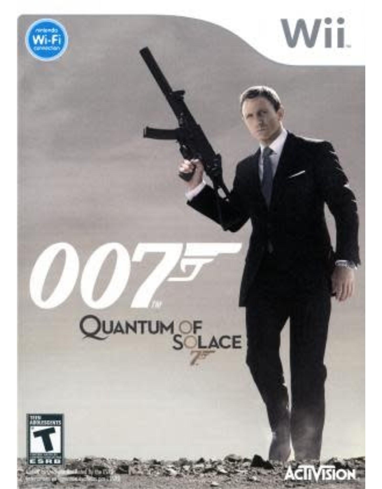 Wii 007 Quantum of Solace (CiB)