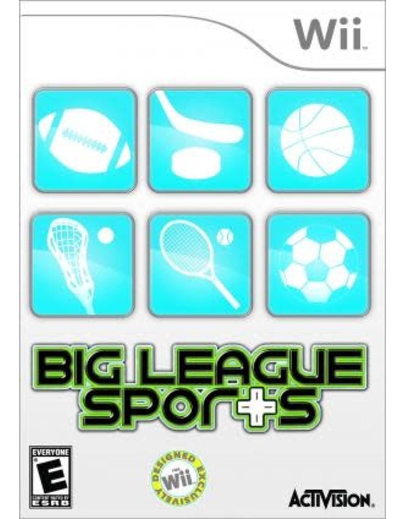 Wii Big League Sports (CiB)