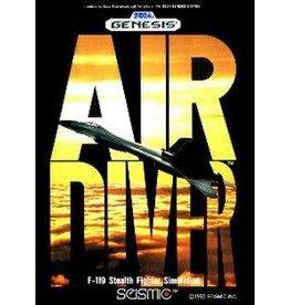 Sega Genesis Air Diver (No Manual, Damaged Label)