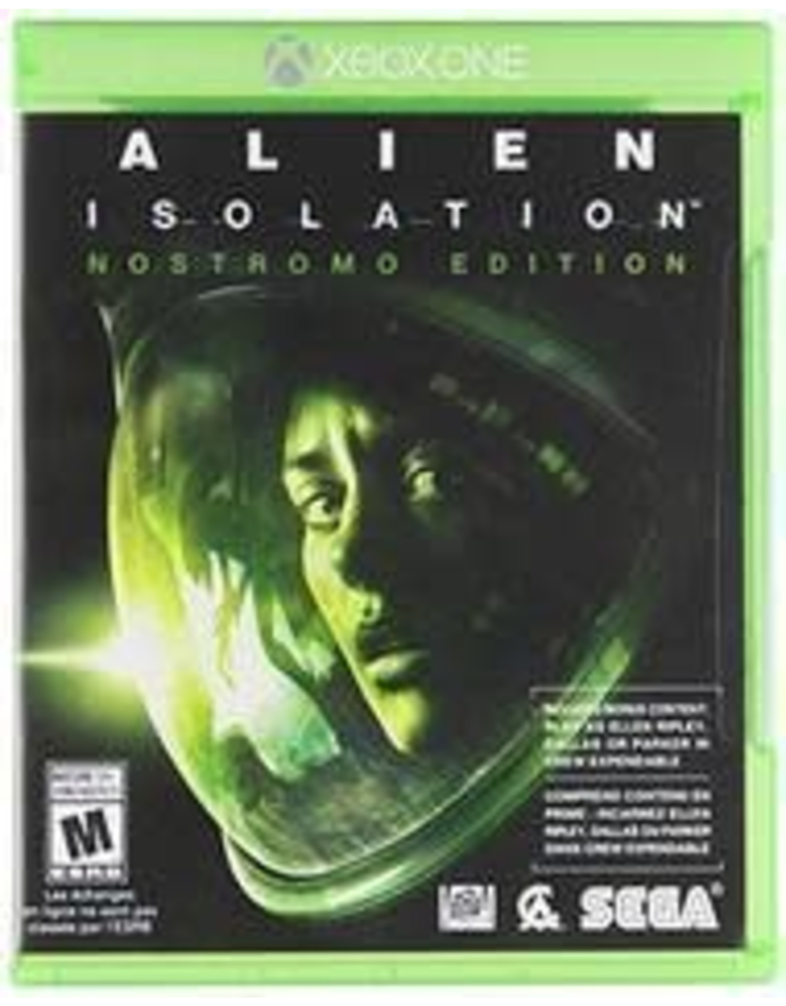 Xbox One Alien: Isolation (Used)