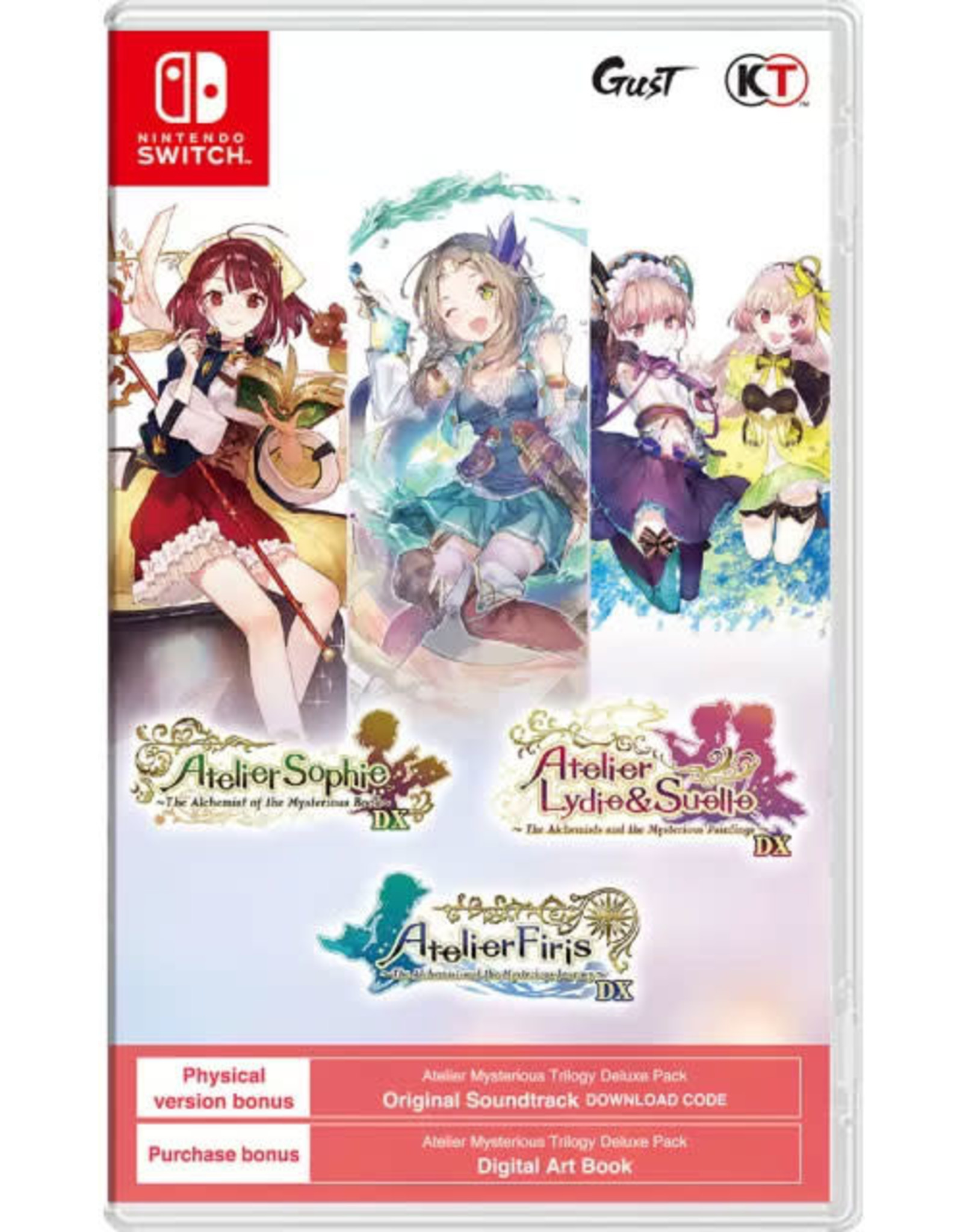 Nintendo Switch Atelier Mysterious Trilogy Deluxe Pack