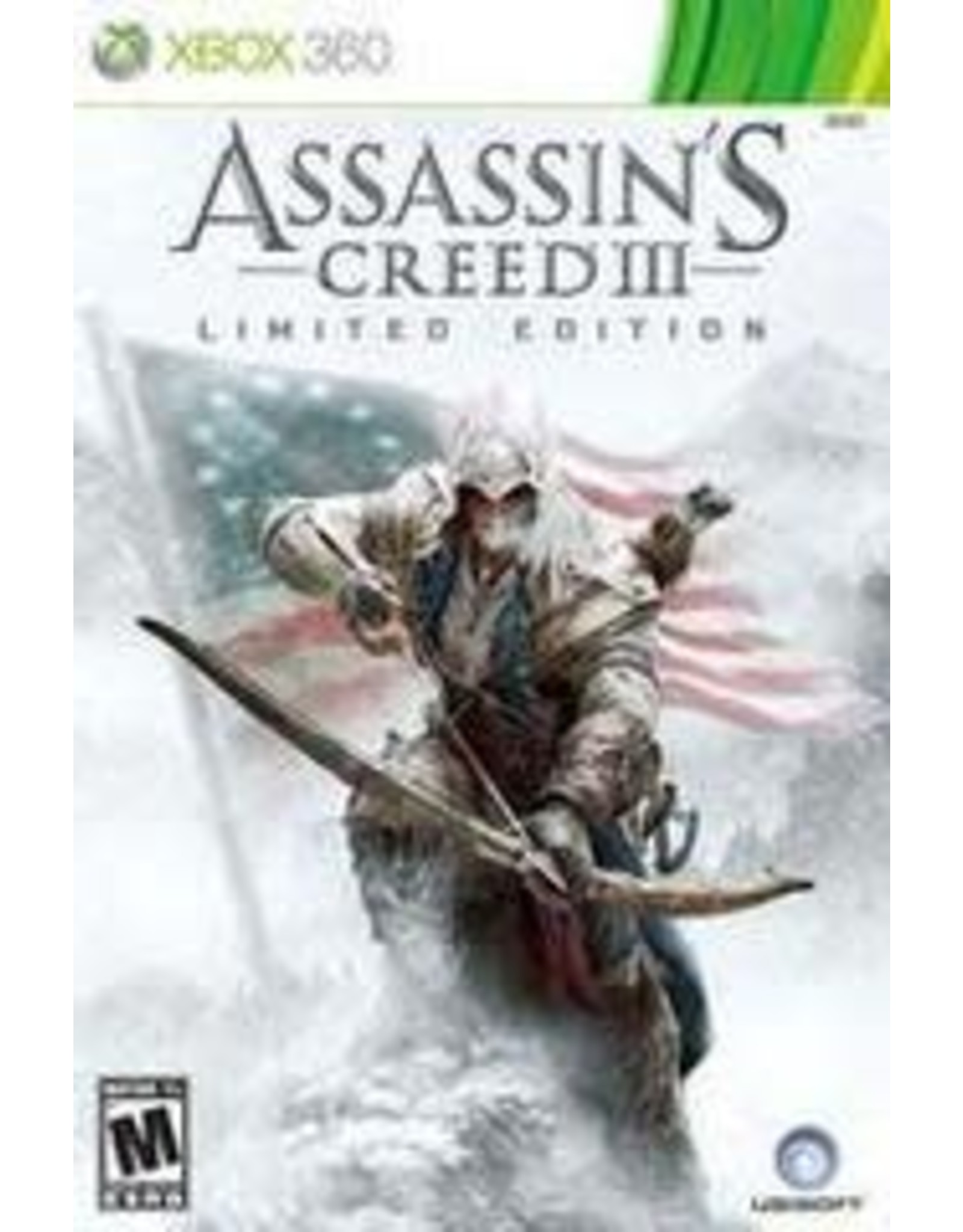 Xbox 360 Assassin's Creed III Limited Edition (CiB)
