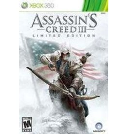 Xbox 360 Assassin's Creed III Limited Edition (CiB)