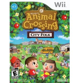 Wii Animal Crossing City Folk (No Manual)