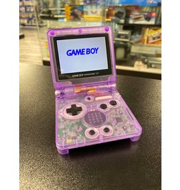 GameBoy Advance Gameboy Advance SP (Custom Shell, Atomic Purple, AGS 101)