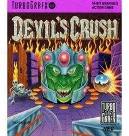 Turbografx 16 Devil's Crush (Case & Manual)