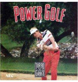TurboGrafx-16 Power Golf (CiB)
