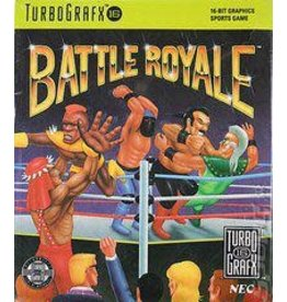 TurboGrafx-16 Battle Royale (Case & Manual)