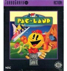 TurboGrafx-16 Pac-Land (Case & Manual)