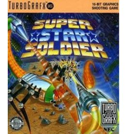 TurboGrafx-16 Super Star Soldier (Case & Manual)
