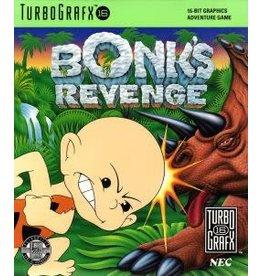 TurboGrafx-16 Bonk's Revenge (Case & Manual)