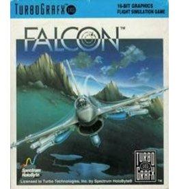 TurboGrafx-16 Falcon (Cart & Manual)