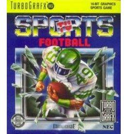 TurboGrafx-16 TV Sports Football (Case & Manual)