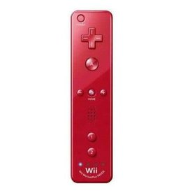 Wii Wii Remote MotionPlus (Red, Mismatched Battery Cover)