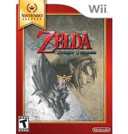 Wii Legend of Zelda Twilight Princess, The (Nintendo Selects, BRAND NEW)