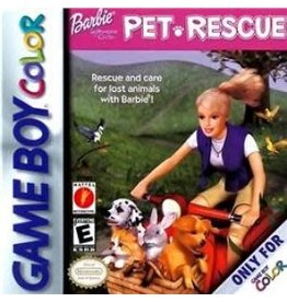 GameBoy Color Barbie Pet Rescue (Damaged Label, Cart Only)