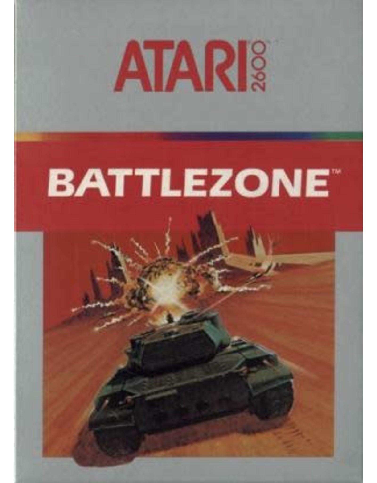 Atari 2600 Battlezone (Cart Only, Damaged Label)