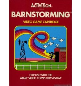 Atari 2600 Barnstorming (Cart Only, No End Label)