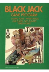 Atari 2600 Blackjack (Cart Only, Tele-Games Text Label, No End Label)