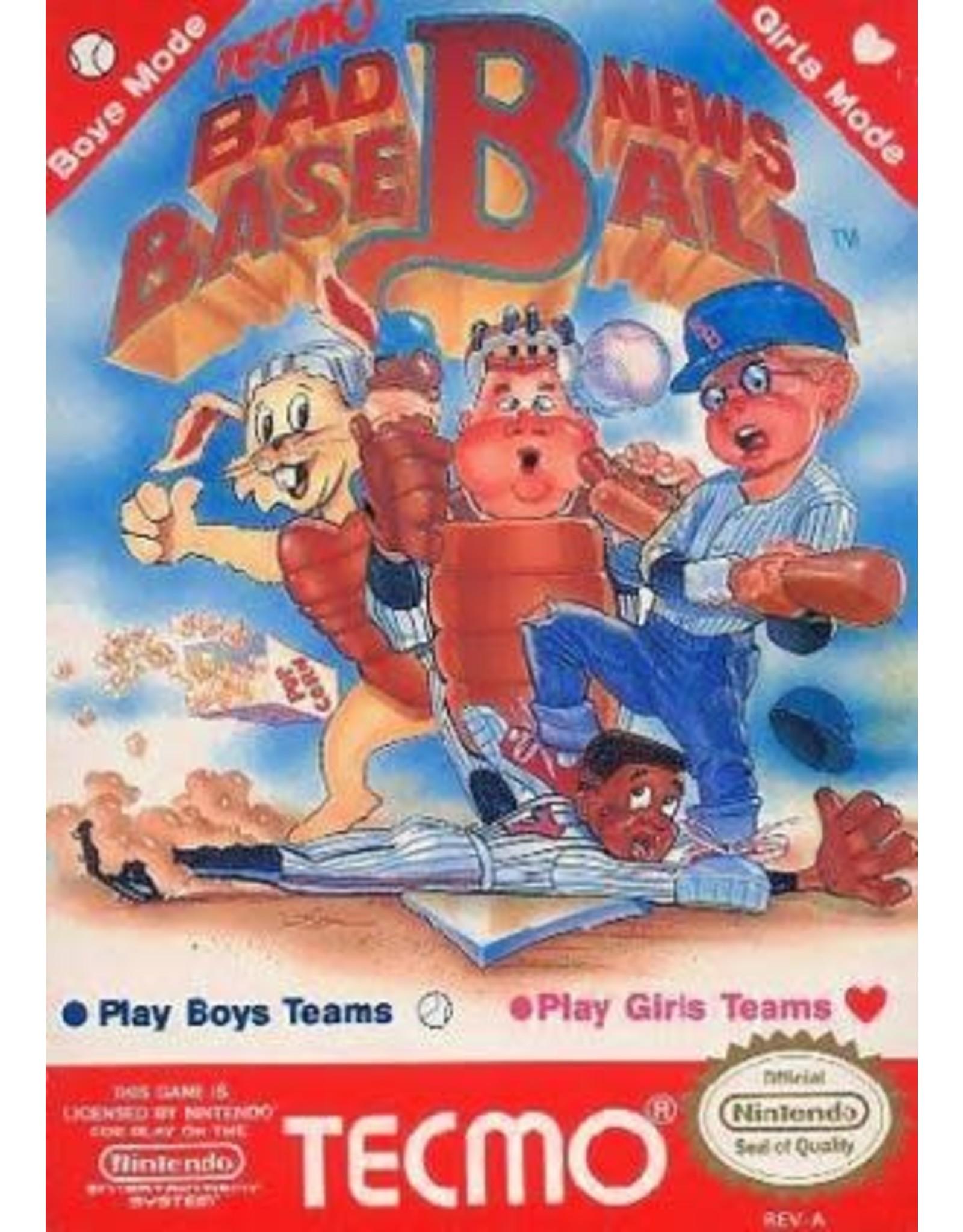NES Bad News Baseball (Cart Only)