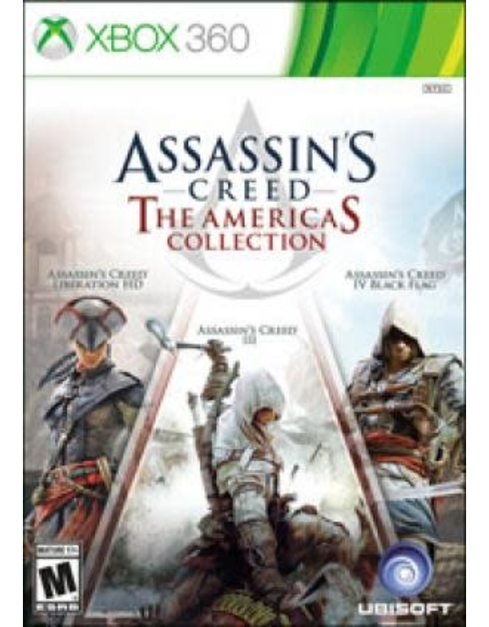 Xbox 360 Assassin's Creed: The Americas Collection (No DLC)