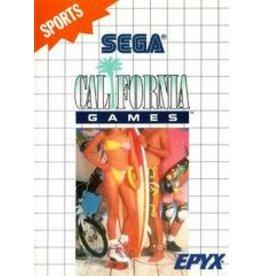 Sega Master System California Games (No Manual)