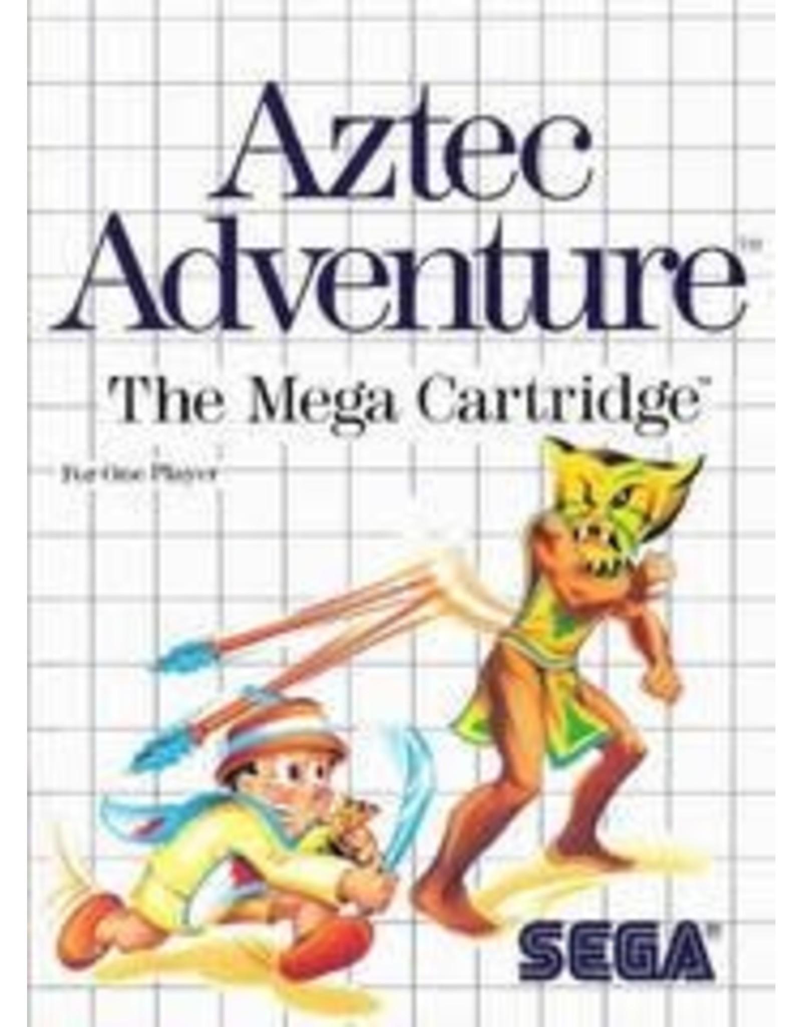 Sega Master System Aztec Adventure (No Manual)