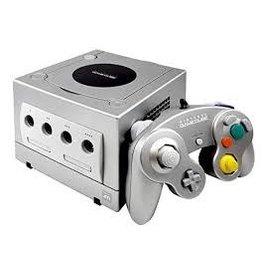 Gamecube Gamecube Console (Platinum, Platinum Contoller, Used)