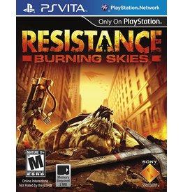Playstation Vita Resistance: Burning Skies (Used)