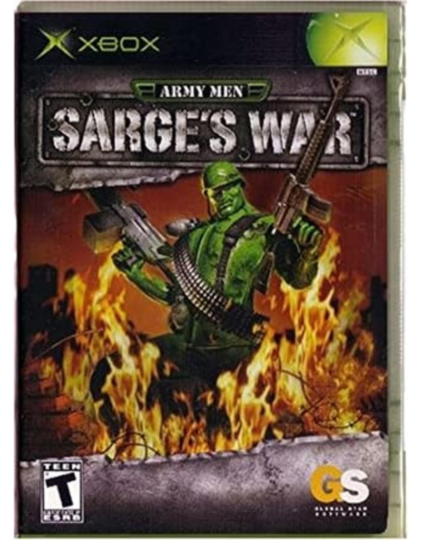 Xbox Army Men Sarge's War (No Manual)
