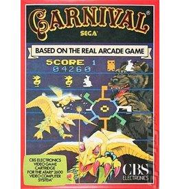 Atari 2600 Carnival (Cart Only, Damaged Label)