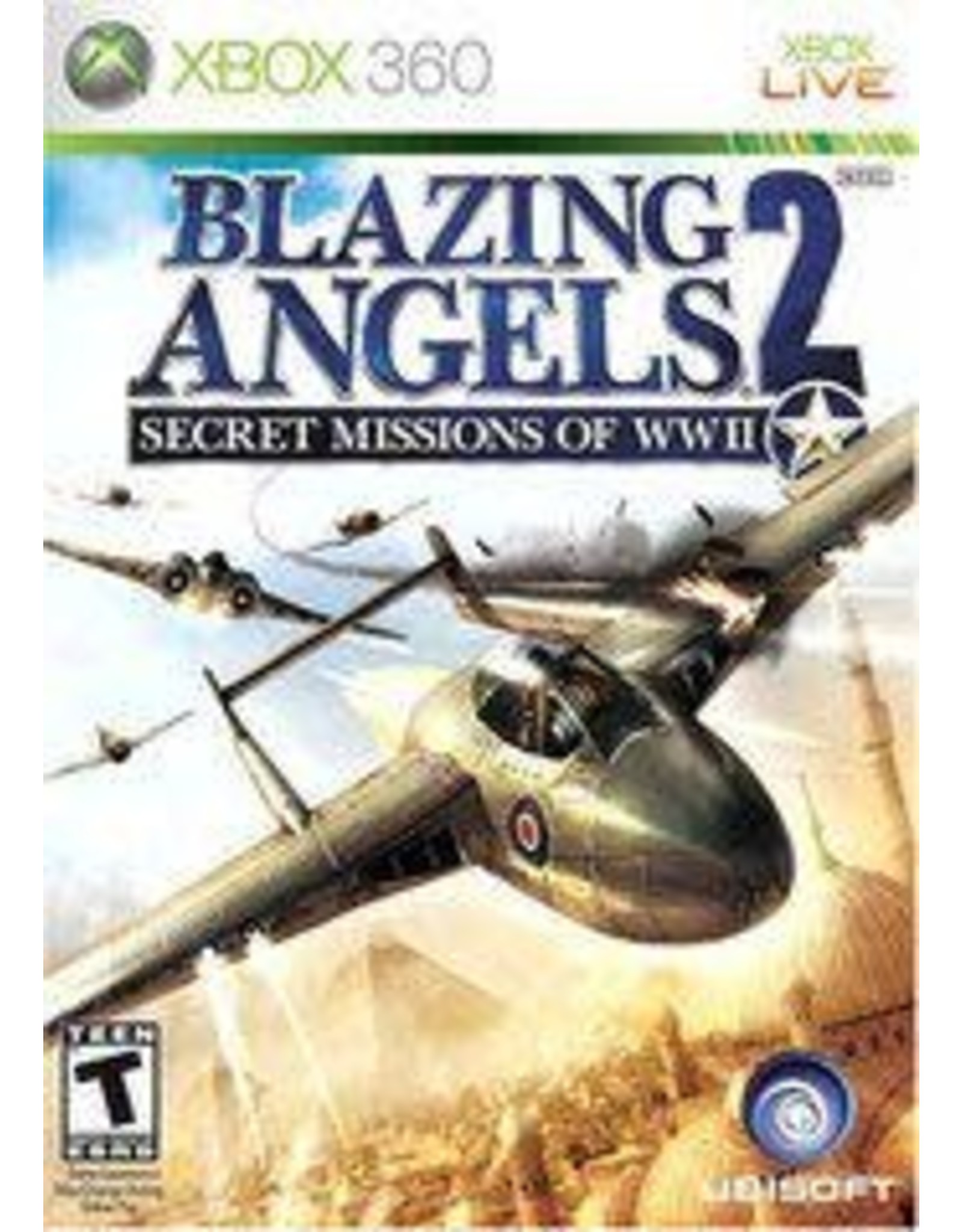 Xbox 360 Blazing Angels 2 Secret Missions of WWII (CiB)