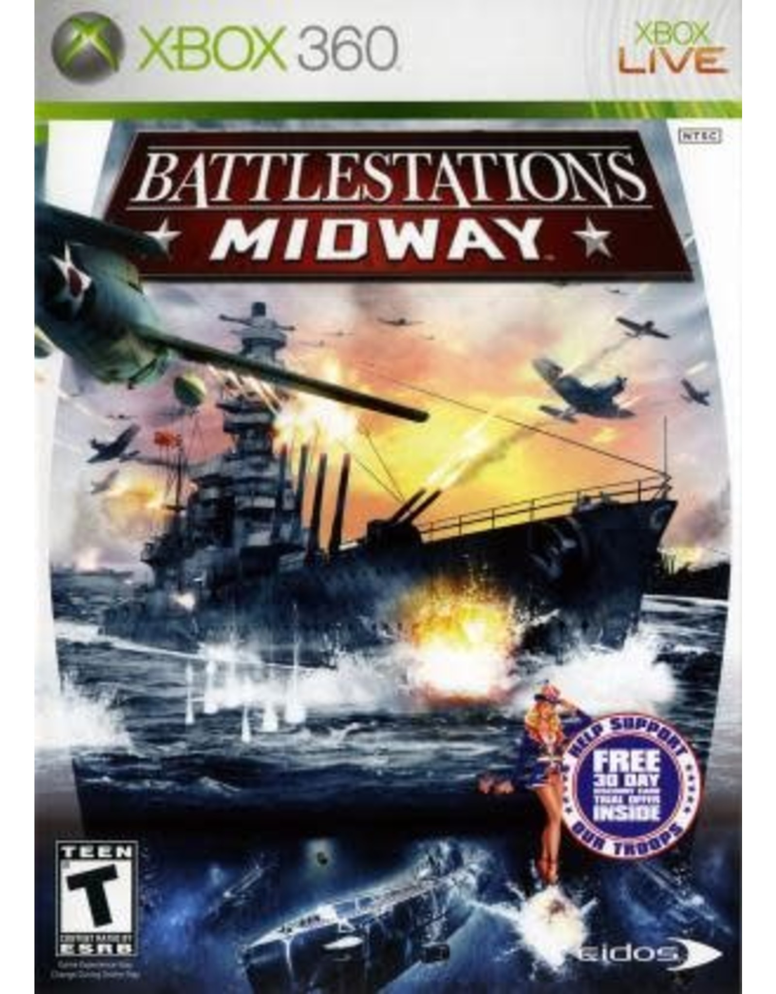 Xbox 360 Battlestations Midway (CiB)
