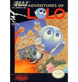 NES Adventures of Lolo (Boxed, Damaged Box, No Manual)