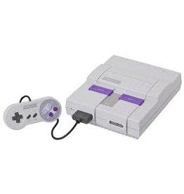 Super Nintendo SNES Super Nintendo Console + Super Mario World (Yellowed, USED)