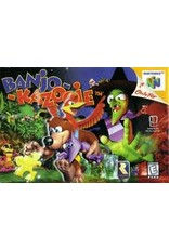 Nintendo 64 Banjo-Kazooie (Water Damaged Box, CiB)