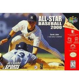 Nintendo 64 All-Star Baseball 2000 (Damaged Box CiB)