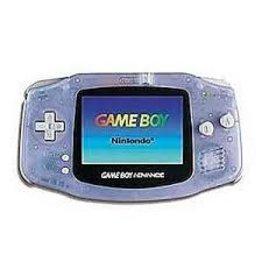 GameBoy Advance Gameboy Advance Console (Glacier, New Screen)