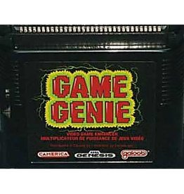 Sega Genesis Game Genie (Cart Only, Camerica)
