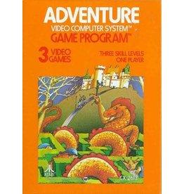 Atari 2600 Adventure (Cart Only, Damaged Label)